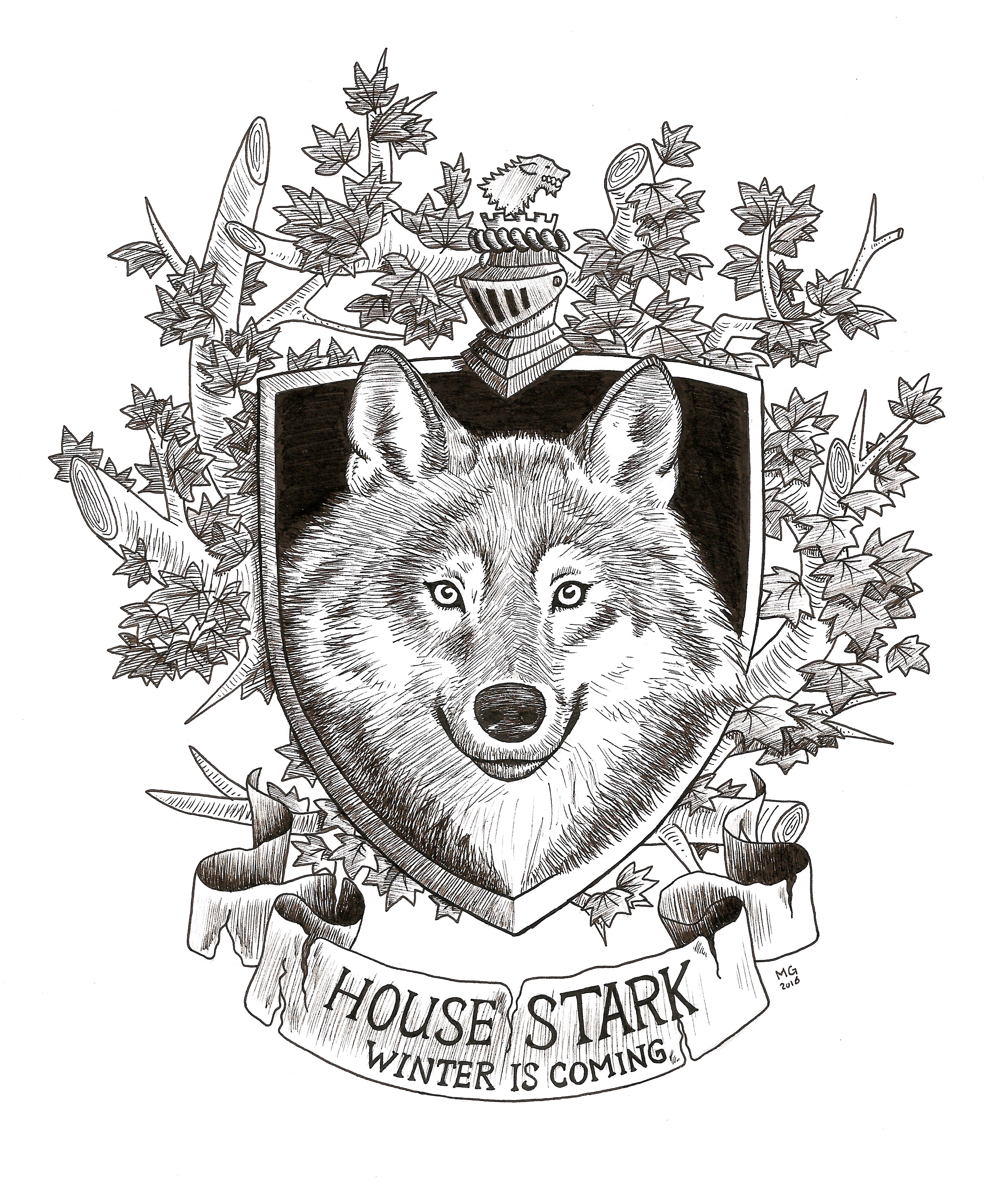 Episode one, the Stark family
